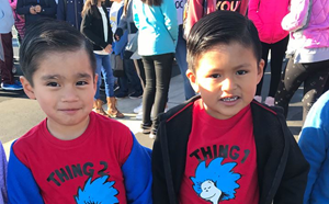 Hazard Students Celebrate Read Across America Twin Style - article thumnail image