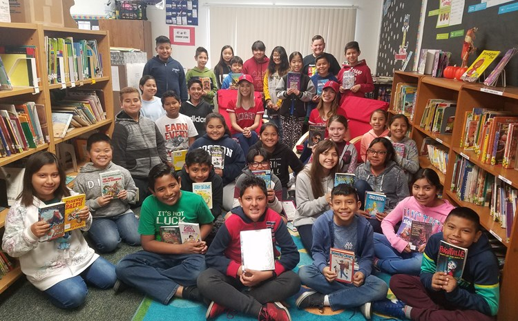 R. F. Hazard Hits It Out of the Park with Guest Readers during Read Across America Week in March! - article thumnail image